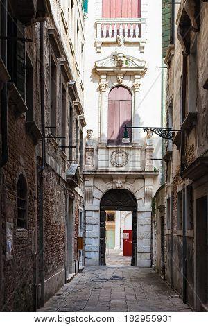 Entrance To Museo Di Palazzo Grimani