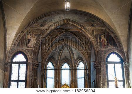 Decoration Church Santa Maria Gloriosa Dei Frari