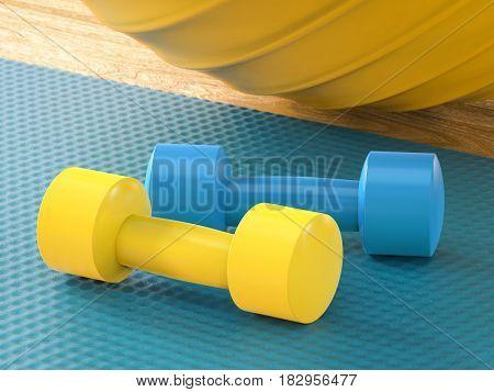 Colorful Equipment