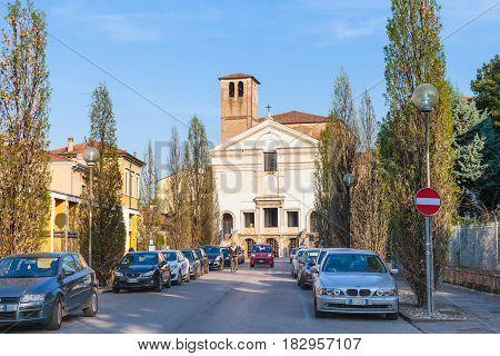 View Of Chiesa Di San Sebastiano From Viale