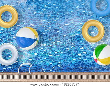 Pool With Toys