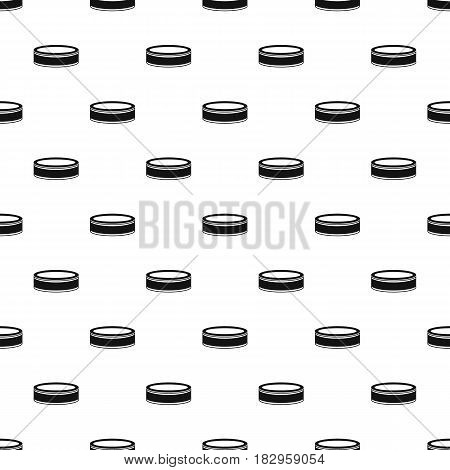 Puck pattern seamless in simple style vector illustration