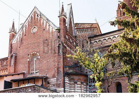 View Of Chiesa Di San Fermo Maggiore In Verona