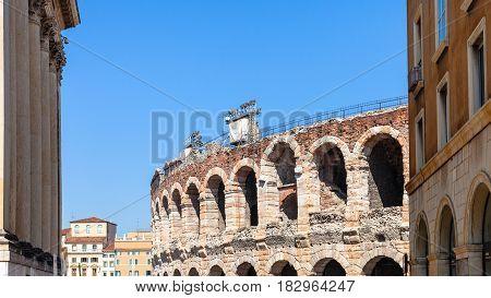 Arena Di Verona Ancient Roman Amphitheatre