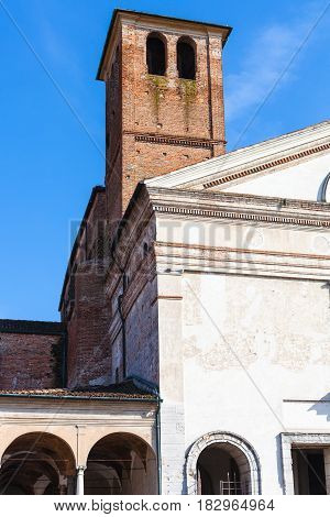 Bell Tower Of Chiesa Di San Sebastiano In Mantua