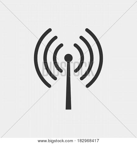 internet wifi icon - vector eps 10