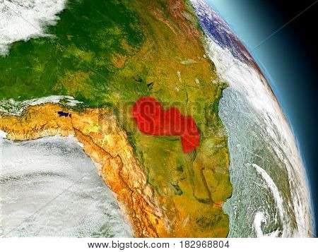 Paraguay From Space
