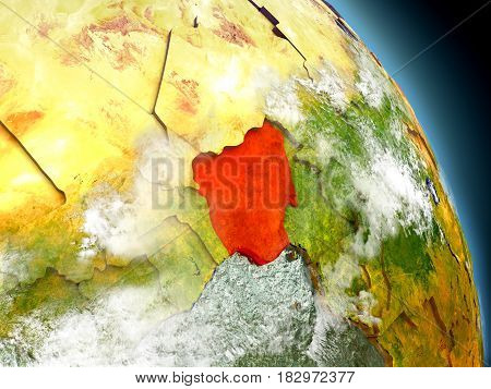 Nigeria From Space