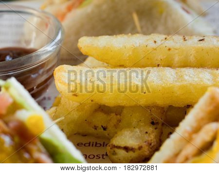 FRENCH FRIES, CHIPS, FRIES, FINGER CHIPS, FRENCH-FRIED POTATOES