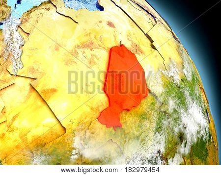 Niger From Space