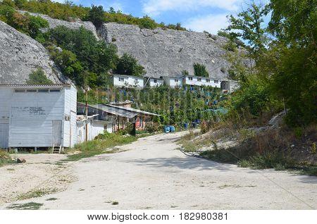 Limestone Caves On The Crimean Peninsula