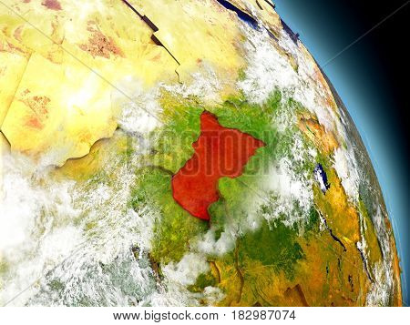 Central Africa From Space