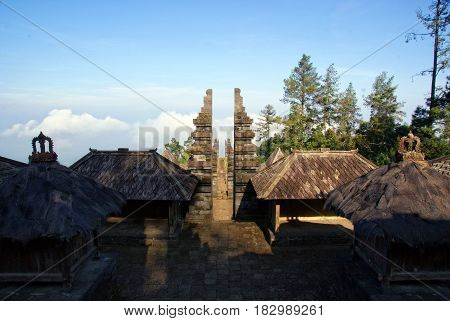 Ceto is a fifteenth-century Javanese-Hindu temple that is located on the slope of Mount Lawu, Central Java, Indonesia