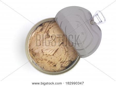 Tuna Fish Isolated On White