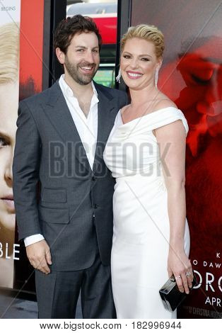 Katherine Heigl and Josh Kelley at the Los Angeles premiere of 'Unforgettable' held at the TCL Chinese Theatre in Hollywood, USA on April 18, 2017.