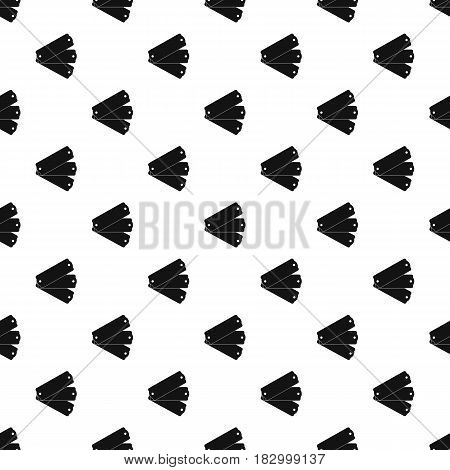 Three tags pattern seamless in simple style vector illustration
