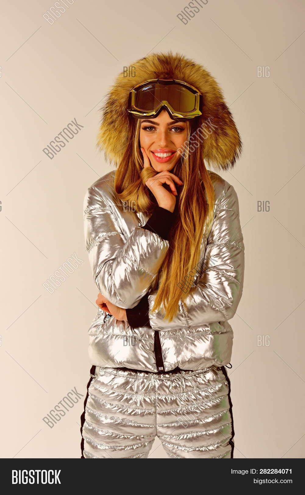 Model In Christmas Vacation.Christmas Vacation Image Photo Free Trial Bigstock