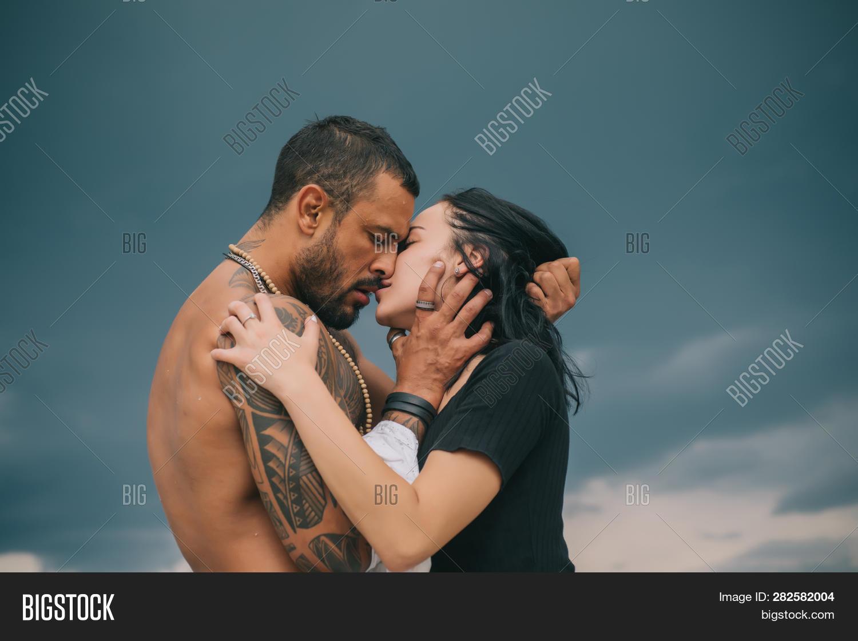 Sensual Couple Kiss Image Photo Free Trial Bigstock