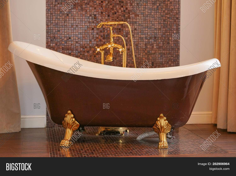 Luxury Brown Gold Image Photo Free Trial Bigstock