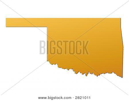 Oklahoma (Usa) Map