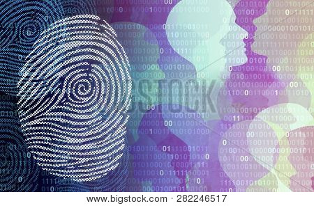 Privacy Data Security User Private User Information As An Abstract Personal Profile Technology With