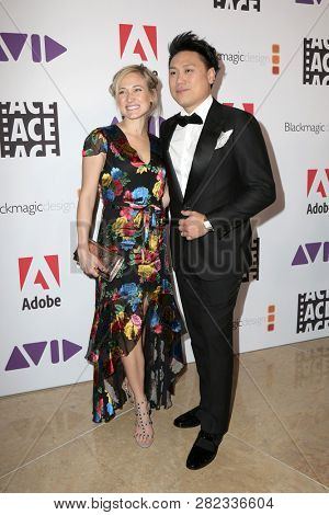 LOS ANGELES - FEB 1:  Kristin Hodge, John M Chu at the 69th Annual ACE Eddie Awards at the Beverly Hilton Hotel on February 1, 2019 in Beverly Hills, CA