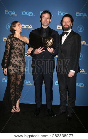 LOS ANGELES - FEB 2:  Keri Russell, Bill Hader, Matthew Rhys at the 2019 Directors Guild of America Awards at the Dolby Ballroom on February 2, 2019 in Los Angeles, CA