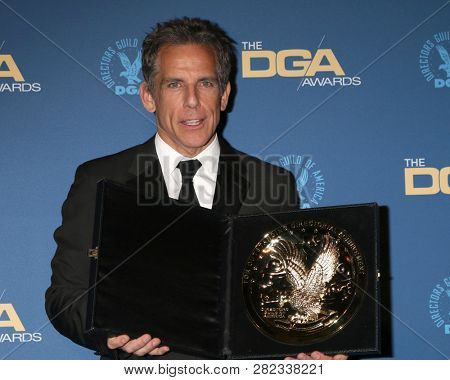 LOS ANGELES - FEB 2:  Ben Stiller at the 2019 Directors Guild of America Awards at the Dolby Ballroom on February 2, 2019 in Los Angeles, CA