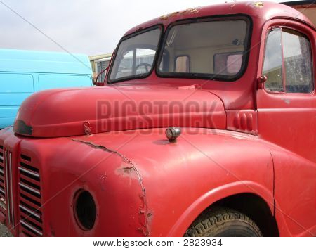Old Red Lorry.
