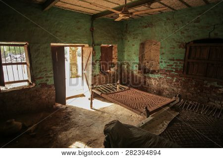 Room Of A House In A Village In Sindh, Pakistan