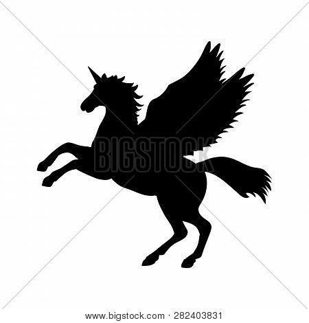 Pegasus Unicorn Vector & Photo (Free Trial) | Bigstock
