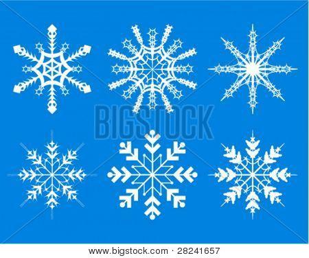 snowflakes -decorative elements