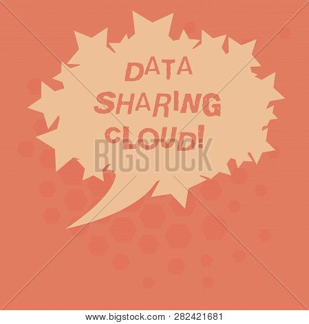 Handwriting Text Data Sharing Cloud. Concept Meaning Using Internet Technologies To Share Files Betw