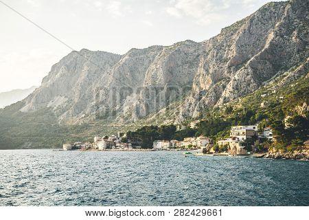A Coastal Village Of Drasnice In Croatia