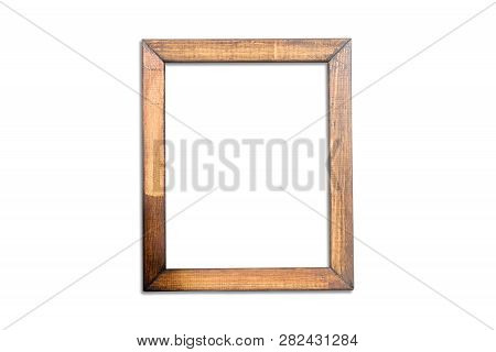 Frame Mockup, Rough Frame Mock Up, 8x10 Portrait Frame, Natural Wood, Frame Mock-up, Styled Wooden F