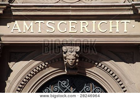 Entrance District Court