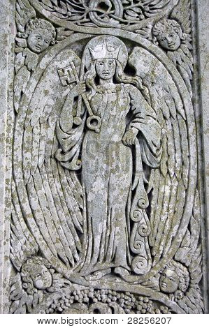 Fors Clavigera carving, Coniston