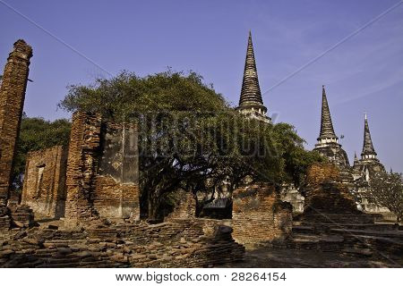 The Ruins Of Holy Old Temple