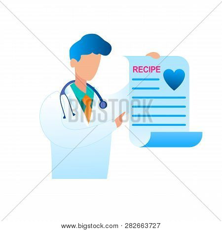 Vector Doctor Holding Vector & Photo (Free Trial) | Bigstock