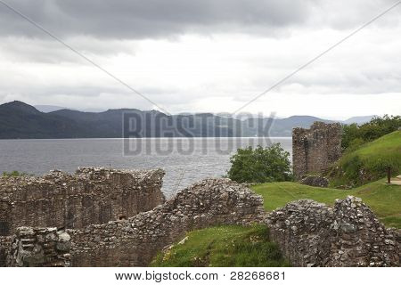 Ruins Of Urquhart Castle
