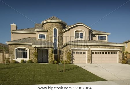 High End Tract Semi Custom Home