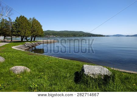 The Stunning Landscape Of Lake George In New York