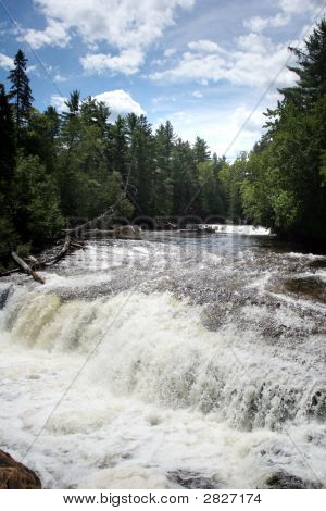 Lower Tahquamenon Fall In Michigan