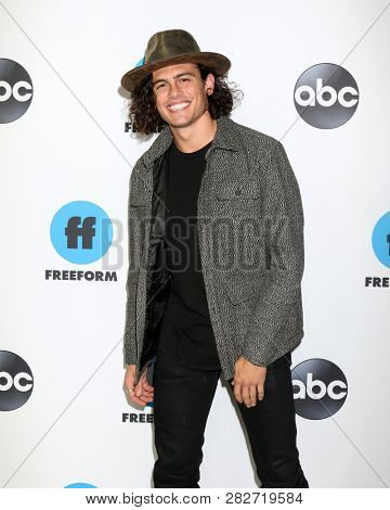 LOS ANGELES - FEB 5:  Tommy Martinez at the Disney ABC Television Winter Press Tour Photo Call at the Langham Huntington Hotel on February 5, 2019 in Pasadena, CA