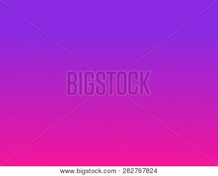 Gradient Abstract Background. Plastic Pink And Proton Purple Background. 2019 Color Trends. Plastic