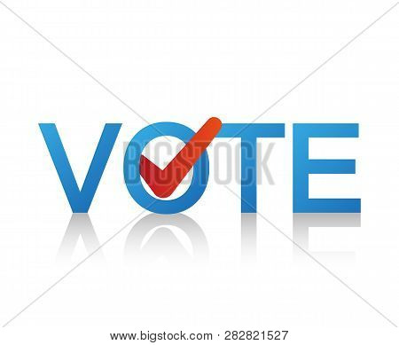 Voting Vector Design. Check Marks. Vote Label