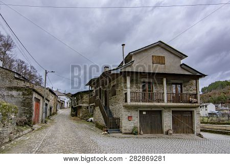 Rio De Onor, Portugal; January 2017 :  Rio De Onor Is A Village In Northern Portugal With Traditiona