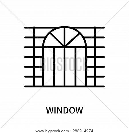 Window Icon Isolated On White Background. Window Icon Simple Sign. Window Icon Trendy And Modern Sym