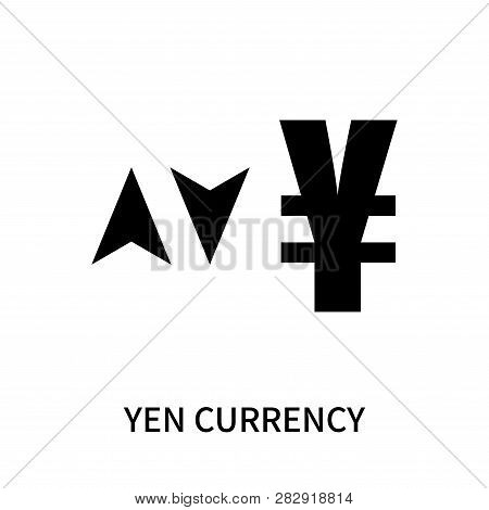 Yen Currency Icon Isolated On White Background. Yen Currency Icon Simple Sign. Yen Currency Icon Tre