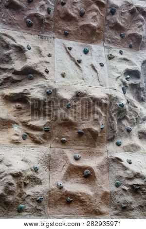 Indoor Climbing Wall For Rock Climber Practice And Training . Bouldering Artifical Wall